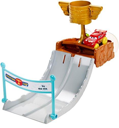 Image of Disney Pixar Cars Hydro Wheels Piston Cup Splash-Off Playset with Lightning McQueen