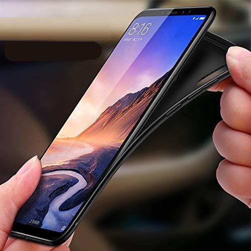 Xiaomi Mi Max 3 Custodia Cover per Cellulare Protezione Protettiva Bumper Nero