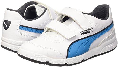 Puma Stepfleex Fs Sl V Ps Sneaker Bianco/Atomic Blue