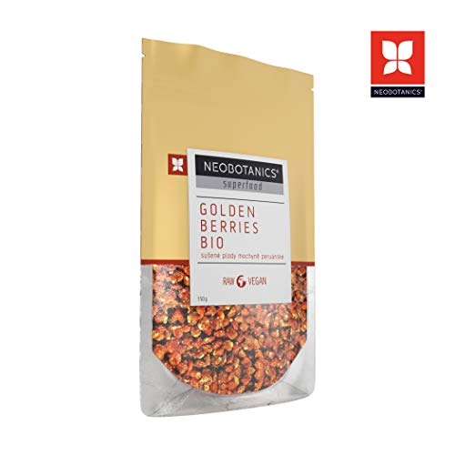 NEOBOTANICS Premium BIO Physalis - Golden Berries | Kastachabeere | getrocknet ohne Zusätze | Vegan | RAW | Organic Food