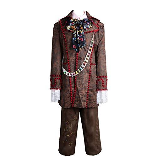 MingoTor Outfit Jacke Hose Krawatte 6 pcs Cosplay Kostüm Herren ()