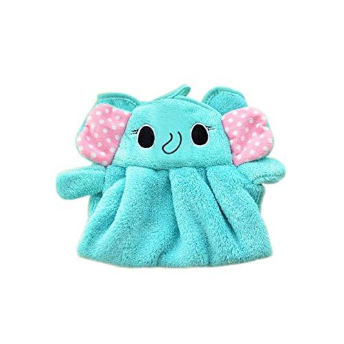 Zwei Tier-handtuch (yunkanda Baby Kindergarten Handtuch Baby Badetücher Kleinkind Weichem Plüsch Cartoon Tier Wischen Hängen Badetuch Für Kind Baby Handtuch Niedlich2)