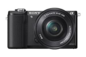 Sony Alpha A5000L 20.1MP Digital SLR Camera (Black) with 16-50mm Lens (ILCE-5000L)