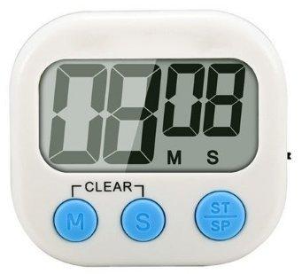 EGLEMTEK Timer da Cucina Magnetico con Allarme Sonoro Forte e Ampio Display LCD