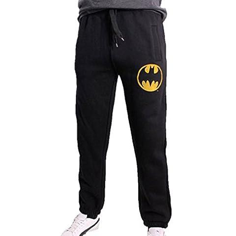 Batman - Pantalon de sport - Homme Noir Noir - Noir - Large