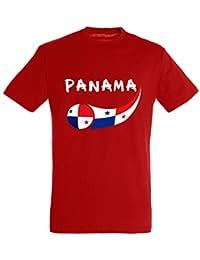Supportershop 6 T-Shirt Panama Enfant 6 Garçon, Rouge, FR : M (Taille Fabricant : 6 Ans)