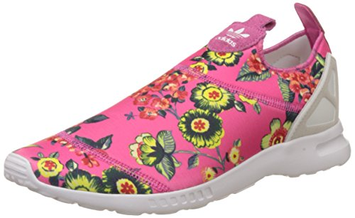 adidasZx Flux Smooth - Pantofole Donna Rosa/Bianco