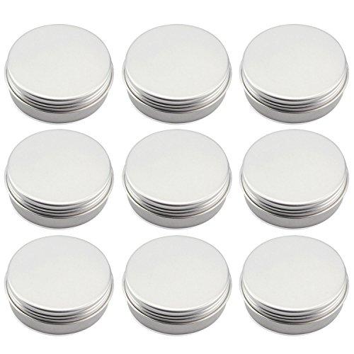 100Ml Pot DIY Récipient Cosmétique Bouteille Vide Bouteille en Aluminium,10Pcs