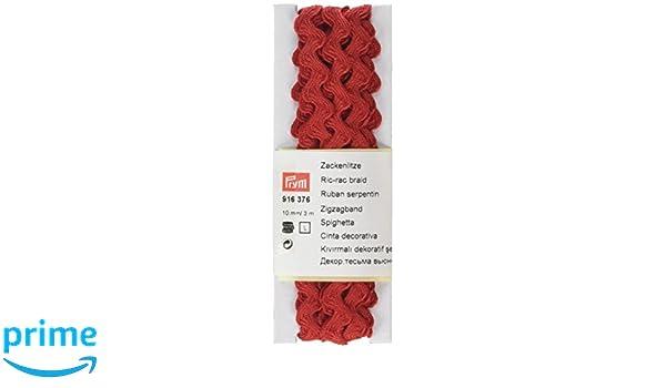Prym ric-rac Tresse 100/% Coton 10/mm 3/m Jaune