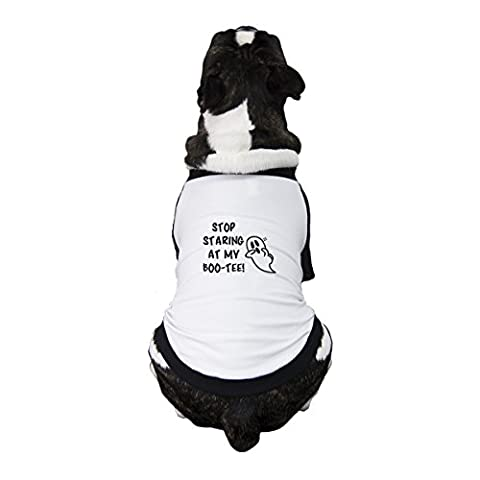 365Druck Halloween Haustier Kleidung Funny Graphic Tees für Hunde Small Pet nur (Vampire Baseball Kostüm)