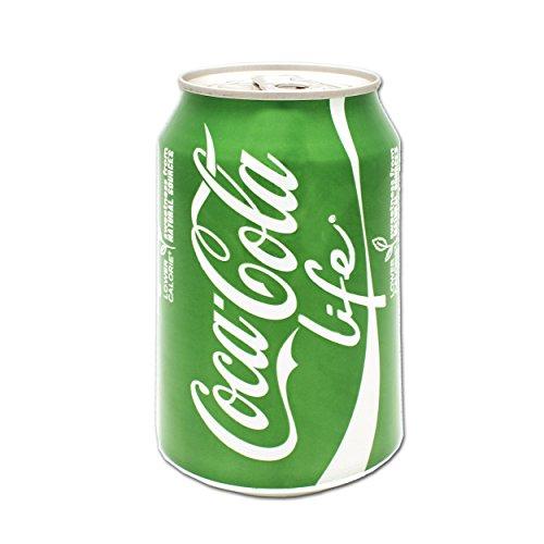 Coca Cola Life 0,33l Dose (Coca Cola Stevia, Coke Import)