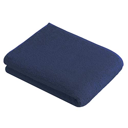 Vossen 1160650493 New Generation Duschtuch, Größe: 67 x 140 cm, Marine blau