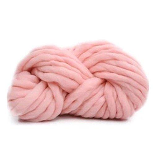 Fairy shop Super Dicke Garne Zum Stricken Threads Hand Knit Spin Warmen Sperrige Cashmere Wolle Garn Soft Touch Chunky Garn Winter, 3.
