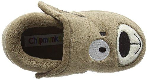 Chipmunks Spike, Chaussons garçon Marron - Brown (Brown 023)