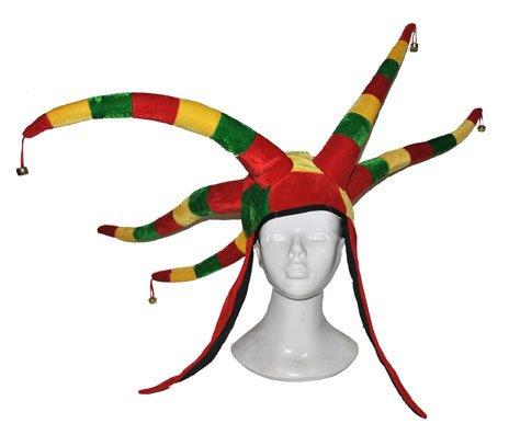 Red Yellow Green - Mütze Harlekin rot/gelb/grün