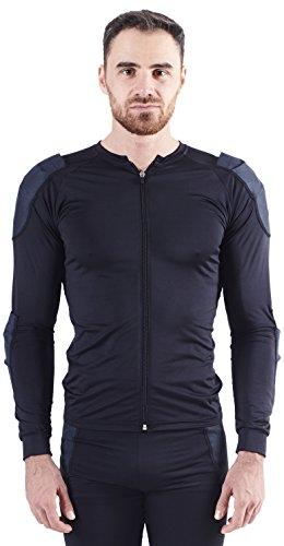 Bowtex Kevlar Essentiel Camisa para Motociclismo Mixta, Kevlar Essentiel, Negro, XXL