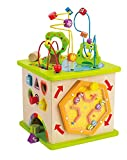 Hape International Hape E1810 Country Critters Play Cube
