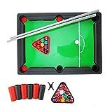 BESTOYARD Kinder Mini Billard Pool Ball Set American Billard Spiel Billardtisch Mini Tisch Spiele Geschenk für Kinder
