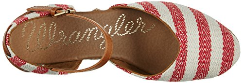 OFF Rot WHITE Donna Bella RED Wrangler Sandali Stripes YwxpqfCC