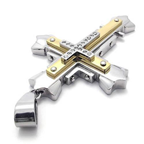 anazoz-acier-inoxydable-argent-18-26-pouce-lien-pendentif-collier-or-croix-hommes-chaine