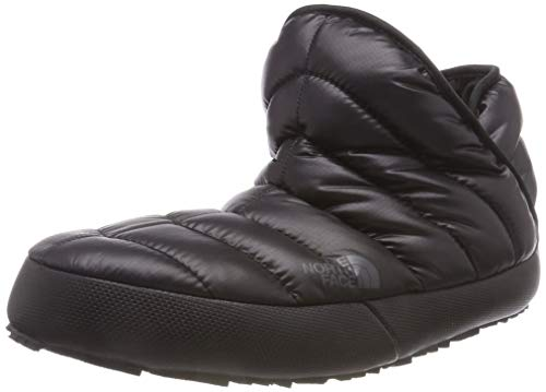 The North Face Thermoball Traction, Bottes de Neige Femme, Noir (Shiny TNF Black/Beluga Grey Ywy), 40 EU