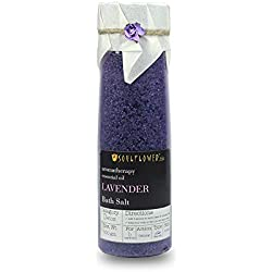 Soulflower Lavender Bathsalt, 500g