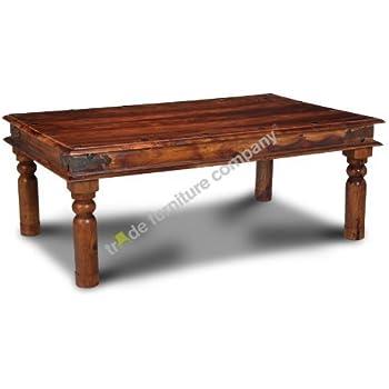 Sheesham Thakat Coffee Table Amazon Co Uk Kitchen Amp Home