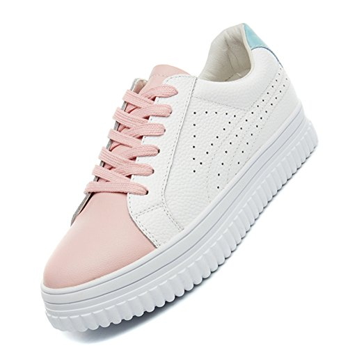 XTIAN - Low-top Donna Bianco/Rosa
