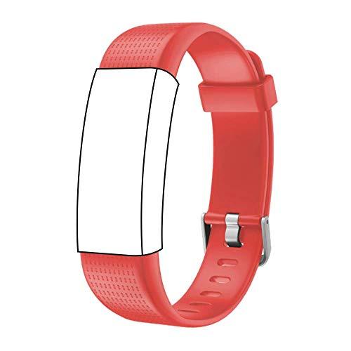 endubro Cinturino per Fitness Tracker ID130 Plus Color HR, Willful Orologio Fitness Tracker & Molti Altri Modelli Realizzato in TPU Skin-Friendly con Chiusura antiallergica (Rosa)
