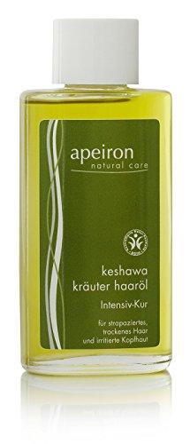 Apeiron Keshawa Kräuter Haaröl Intensiv-Kur -