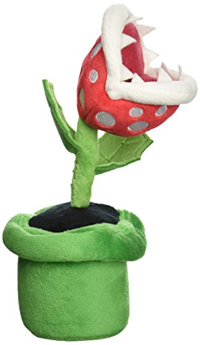 Super Mario - Piranha Plant Plush - 24cm 9""