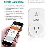 Qewmsg Small Size Intelligent Wi-Fi Smart Plug Mini Wireless Smart Socket Plug