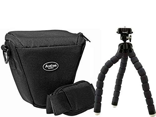Foto Kamera Tasche ACTION COLT Set mit Reise Stativ Rollei MONKEY für Sony Alpha 6500 6300 6000 5100 5000
