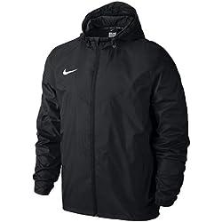 Nike Team Sideline Rain Jacket Waterproof Jacket, Men, Black / White (Black / White), M