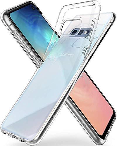 Spigen Liquid Crystal Cover Galaxy S10e, Estremamente Sottile TPU Flessibile Puro Trasparente Custodia per Galaxy S10e - Crystal Clear