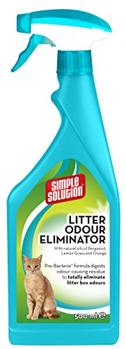 Simple Solution Cat Litter Odour Eliminator, 500 ml