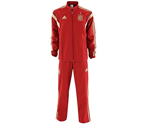 adidas Chándal España fútbol Team f85812–128 Color Rojo talla: 128