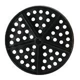 COMPETITOR Ersatz Scheiben Schwimmbad Wasser Standard Lane Discs (rot) Tasche von 50, schwarz