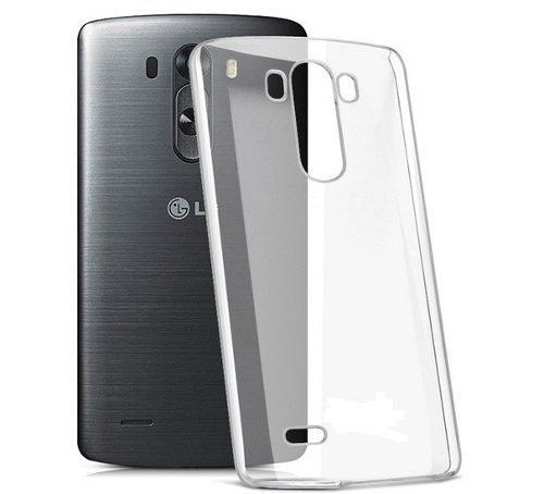 LG G3 - NOVaGO® Coque Gel TPU souple transparente pour LG G3 + 3 films transparents de qualité offerts