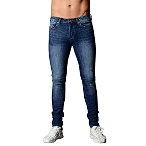 Herren Motorradfahrer Leggings Hose , Yogogo Jeans | Trainingshose Hosen | Patchwork Leggings | Sport Fitness Workout Leggins|Elastische Dünne Hosen|Jogginghose Sporthose Röhrenjeans