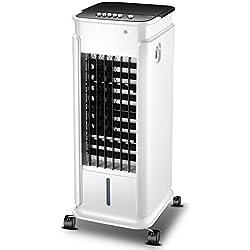 Climatiseur mobile ventilateur de chauffage et de refroidissement à double usage refroidisseur d'air dortoir domestique ventilateur de climatisation portable humidificateur à réfrigération@Blanc_M
