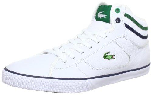 Lacoste  Camous CRE SPM,  Sneaker uomo, Bianco (Weiß (Weiß/Grün)), 45