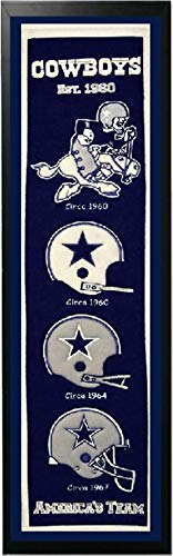 Encore Select 14x37 Banner Frame - Dallas Cowboys