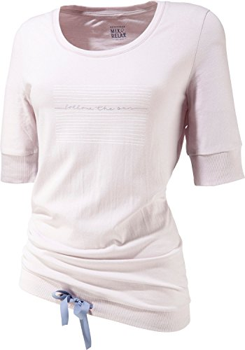 Schiesser Damen Shirt kurzarm 156397 Hellgrau