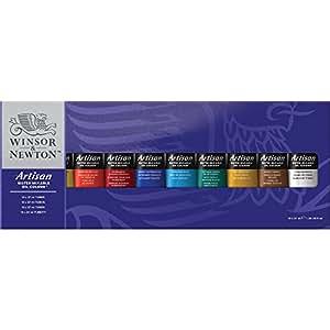 Winsor & Newton - Artisan - Coffret de peinture à l'huile - Soluble à l'eau - 10 x 37 ml (Import Royaume Uni)