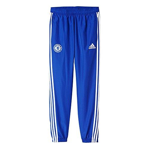 adidas Herren CFC Pre Real Madrid hoch Home Pants-Blue/weiß/Cheblu/weiß, mittel XS blau/weiß
