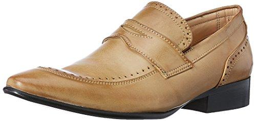 Franco Leone Men's Beige Formal Shoes - 8 UK/India (42 EU)