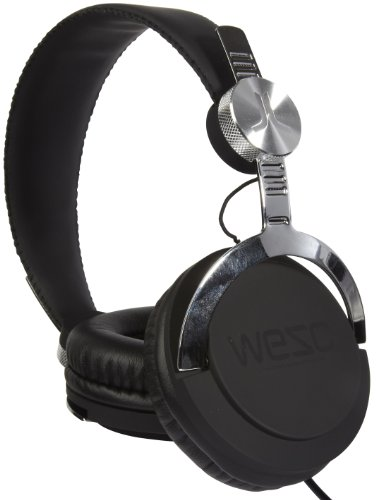 WESC casque audio Bass Black Noir