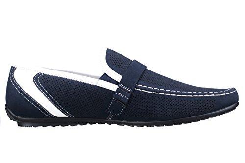 Goor - Chaussure Derbie Fgl17 Mocassin 21 Marine Bleu