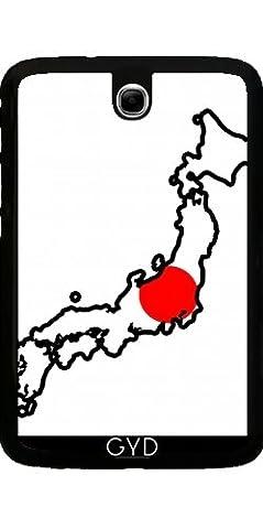 Coque pour Samsung Galaxy Note 8 N5100 - Japon Carte De Drapeau by Cadellin